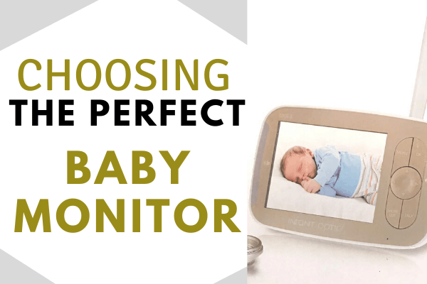 How to Choose the Best Baby Monitor for Your Family! Including the Pros and Cons of video and sound only baby monitors! #bestbabymonitor #infantopticsbabymonitor #videobabymonitor