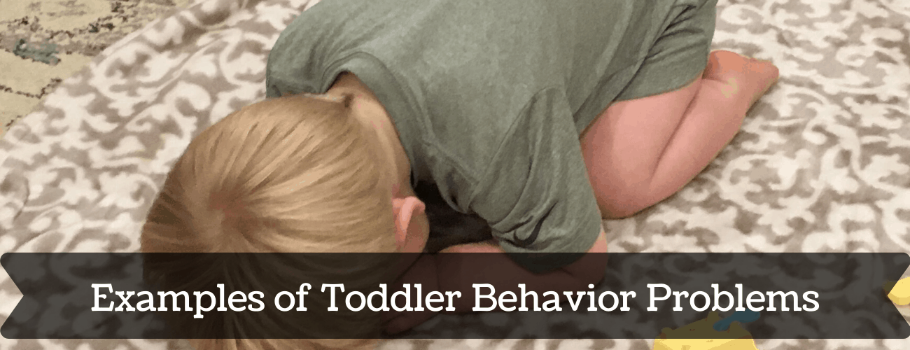 A list of Toddler Behaviors that aren't going away unless you teach your child how to obey. Identifying behaviors and making a plan! #toddler #toddlerdiscipline #baby