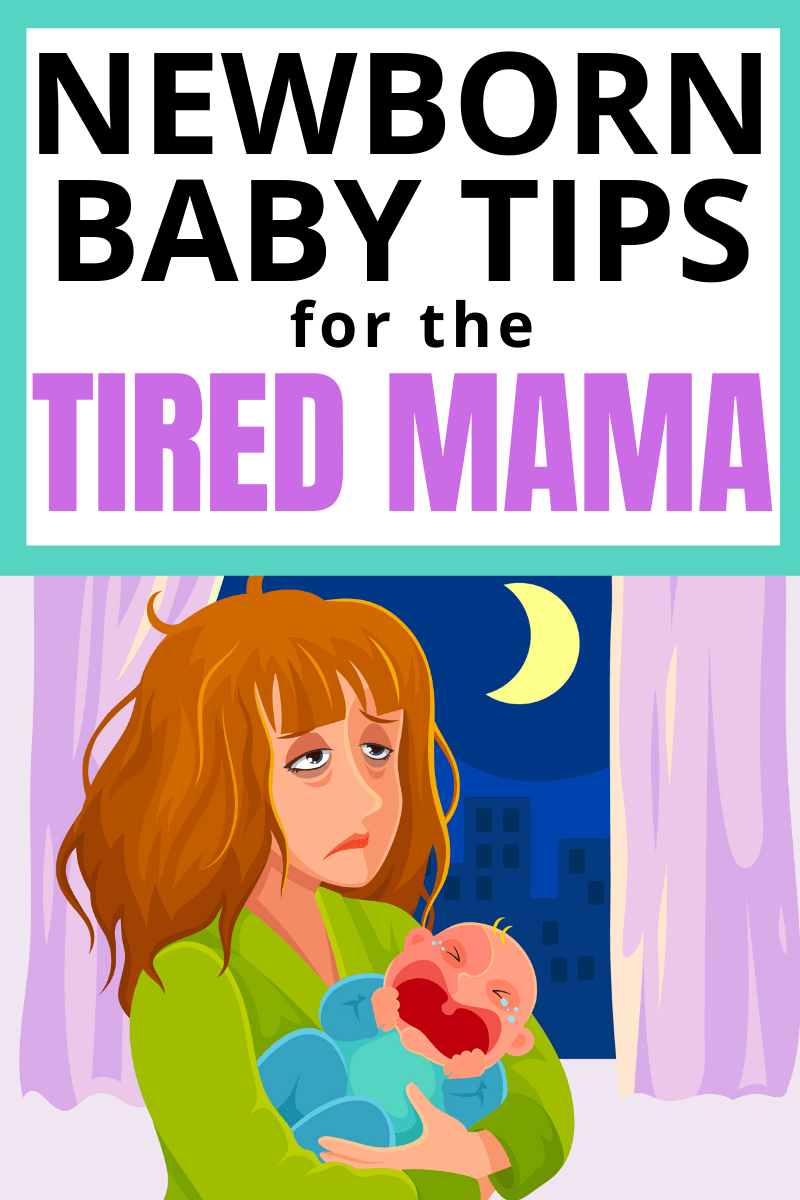 New Mom Alert! Try these newborn baby tips to get more sleep when you are exhausted! #baby #newborn #momtobe #pregnancy #mama